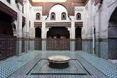 Bou Inania Madrasa (Meknes), January 2019 D810 100 (tango-) Tags: meknes madrasa madrassa المدرسة البوعنانية morocco madersa bouinania maroc marocco