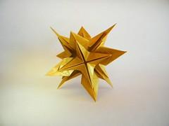 Estrella Megaomega - Manuel Carrasco (Rui.Roda) Tags: origami papiroflexia papierfalten modular estrella megaomega manuel carrasco