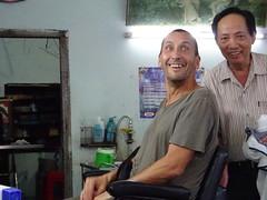 Barber shop in Ho Chi Minh City
