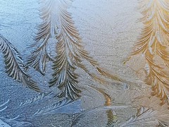 Windscreen (Claudia1967) Tags: samsung winter defrosting windscreen outside morning car patterns melting crystals ice cold claudia1967