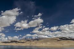 Tsomoriri #10 (jean matthieu) Tags: blue canon clood cloods color eos himalaya india indiantibet ladakh lake landscape light montain montains sky tsomoriri