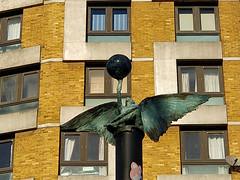 171126 Hackney Demon 2 (hoffman) Tags: art sculpture publicart bronze casting street jonesy hackney shoreditch towerhamlets davidhoffman wwwhoffmanphotoscom