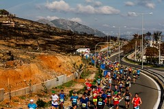 36th Athens Authentic Marathon (kpikoulas) Tags: athensauthenticmarathon athensmarathon athletes athletics greece marathon marathonrace runner burnt wildfires road people running street outdoors longdistancerunning athens
