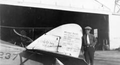 air mail collection image (San Diego Air & Space Museum Archives) Tags: usmail237 aviation aircraft airplane biplane airmail usairmail dehavilland dehavillanddh4 dh4 hangar