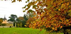 AUTUMN COLOUR AT CROFT CASTLE (chris .p) Tags: croft castle tree nikon d610 view autumn 2018 church colour capture landscape october nt nationaltrust herefordshire england uk