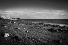 Penarth, South Wales (raymorgan4) Tags: penarth south wales beach rocks sea seascape sandy tide pier cloudy clear sky waves seaweed pebbles