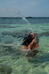 0094 (boeddhaken) Tags: sea coast beach whitesand pacificocean hairsplash splash pinay pinkbikini pink sexypinay cutepinay philippina philippines cutegirl dreamgirl girl beautifulgirl sexygirl longhair lovelyangel sexywomen beautifulwomen black blackhair