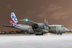ZH883  '883'  Hercules C5  RAF  '50 Year Anniversary Markings' (Churchward1956) Tags: 50yearanniversarymarkings airfield aviation c130 c130j england hercules herculesc5 nightshoot nightshootxxvi raf rafbrizenorton rafnortholt specialmarks zh883