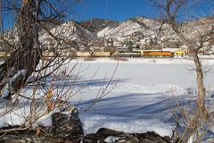 BNSF 6070 Palmer Lake 13 Jan 19 (AK Ween) Tags: bnsf bnsf6070 ge generalelectric es44ac palmerlake colorado jointline rampart rangepalmer divide train railroad gevo