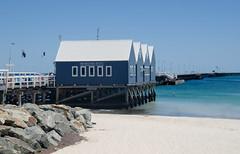 Busselton jetty (Laineyb93) Tags: busselton nikon australia wa jetty landmark blue boatshed sun sand sea westernaustralia