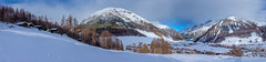 Livigno III (Click2see full pano) (Petr Horak) Tags: rock x100f nature landscape winter europe alps italy mountains sky outdoor rural mirrorless fujifilm clouds