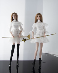 Goddesses of Love and Wisdom (doll_enthusiast) Tags: integrity toys ahs american horror story coven zoe benson nuface fashion doll dolls collecting photography