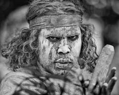 sixty thousand plus years (gro57074@bigpond.net.au) Tags: monochrome monotone mono bw blackandwhite australiaday 2019 january f28 70200mmf28 nikor d850 nikon traditionalcustodian firstaustralian 1staustralian posedportrait posed portrait sixtythousandplusyears guyclift
