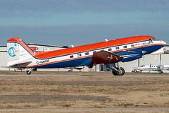 Kenn Borek Air Douglas DC-3TP (zfwaviation) Tags: kenn borek air dc3 douglas basler bt67 turboprop conversion antarctic antarctica survey ferry dc3t cghgf canada ads kads addisonairport texas aircraft airplane plane prop