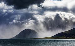Kolgrafafjörður (Jón Óskar.) Tags: kolgrafafjörður mountains snæfellsnes iceland jónóskar ocean cloudy