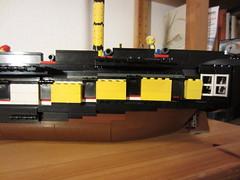 IMG_1260 (argo naut) Tags: lego 74 gun third rate ship line historical marine napoleonic era british empire model history bricks 32 frigate vessel rigging trafalgar waterloo