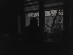 Watcher (wojciechpolewski) Tags: watcher watching observation observer evening night woman kitchen home windowview window view wpolewski monotone monochrome monochromatic monochromatico blacknwhite blackandwhite bw bnw nightlife