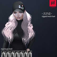June (FABIA.HAIR) Tags: 3d fashionlook fashion virtual virtuallife mesh meshhair hair rigged beauty look piktures fabia nice meef head special sl second secondlife sweet event hairstyle style life lovely avatar spam shopping new release best love everyday art shop women locks girl treschik