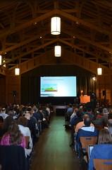 Plenary III in Merrill Hall (afagen) Tags: california pacificgrove asilomarconferencegrounds montereypeninsula asilomar gsa geneticssocietyofamerica fungalgeneticsconference conference