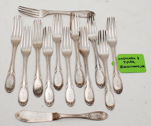 65 pieces of Towle Sterling flatware ($700)