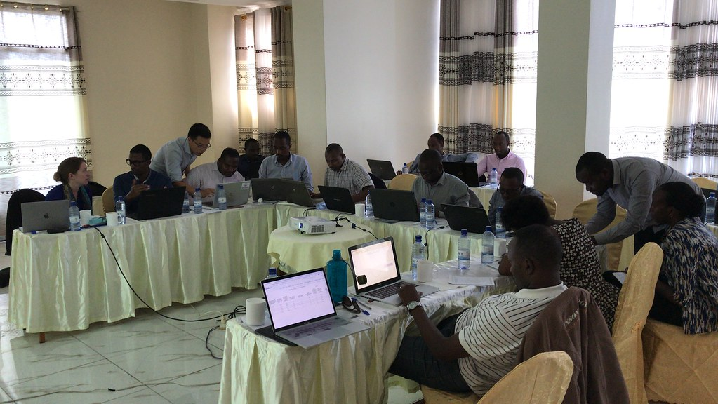 Workshop with users of the Rwanda Health Analytics Platform