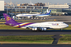 Thai Airways   HS-TGX (Sirisobhakya) (TommyYeung) Tags: thai thaiairways thaiairwaysinternational tg tha boeing boeingcommercialairplanes 747 747400 boeing747400 b747 b744 boeing7474d7 jumbo queenoftheskies hstgx boeing747 widebodyjetairliner widebodyjet widebody commercialjet jet jetairliner 4engines jumbojet plane planespotting planephoto planes aeroplane airplane doubledeckplane aircraft airliner air airline airliners airlines airside airtransport runway landing aviation fly flymachine transport transportphotography transportspotting japantransport transit airframe spotter spotting canon canonphotography canoneos5d4 cf680c2b1f sirisobhakya geaviation generalelectric บริษัทการบินไทยจำกัด 羽田空港 はねだくうこう hanedaairport tokyointernationalairport hnd rjtt