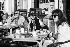 Pepe Reyes-181224-021 (Pepe Reyes (jorego)) Tags: 2018 málaga bn bigote cafetería fotografíacallejera pareja sombrero streetphoto terraza