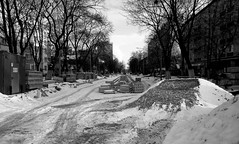 DSCF1885c_jnowak64 (jnowak64) Tags: poland polska malopolska cracow krakow krakoff krowodrza ulica architektura zima mik bw