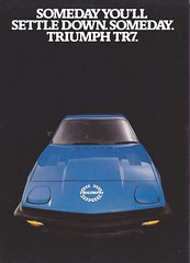 Triumph TR7 brochure (Hugo-90) Tags: triumph tr7 ads advertising brochure car sports auto automobile