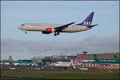 LN-RRK Boeing 737-863 SAS Scandinavian Airlines (elevationair ✈) Tags: dublin airport dublinairport dub eidw airliners airlines avgeek aviation airplane plane boeing 737 738 boeing737863 sas sasscandinavianairlines lnrrk arrival