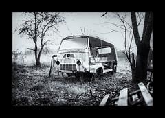 A l'abandon 2 (Breizhpanda) Tags: bretagne languidic morbihan brenitzer epave vehicule voiture fourgon