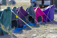 Rainbow tents (Big Red Bash) Tags: australia queensland bigredbash bigreddune birdsville