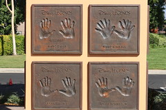 """Marc Davis, Ward Kimball, Frank Thomas and Ollie Johnston's Disney Legends Plaques • <a style=""""font-size:0.8em;"""" href=""""http://www.flickr.com/photos/28558260@N04/31961653698/"""" target=""""_blank"""">View on Flickr</a>"""