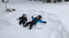 """Paul and Dani Make Snow Angels • <a style=""""font-size:0.8em;"""" href=""""http://www.flickr.com/photos/109120354@N07/31991082337/"""" target=""""_blank"""">View on Flickr</a>"""