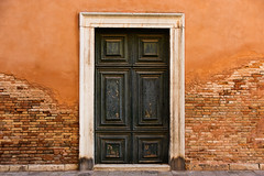 Erosion (Prestidigitizer) Tags: buildings venice church door doorway brick flooding texture pentaxk3 sigma18250mmdcmacro italy travel vacation