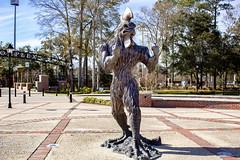 chauncey statue (Eden Alon) Tags: canon rebel t6 coastal carolina college university statue