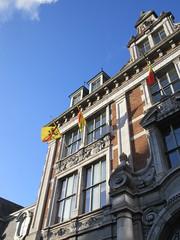Detail of Bourse, Place d'Armes, Namur, Belgium (Paul McClure DC) Tags: belgium belgique wallonie wallonia feb2018 namur namen ardennes architecture historic