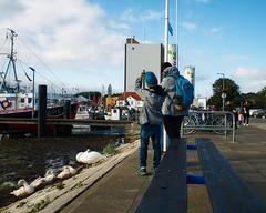 Fehmarn 2017 - Menschen im Hafen (torstenbehrens) Tags: fehmarn 2017 olympus epl1