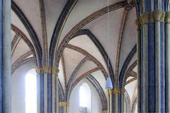 Laufen Stiftskirche - romanesque cross vault (rotraud_71) Tags: bavaria salzachstädte berchtesgadenerland laufenstiftskirche romanic romanesquecrossvault
