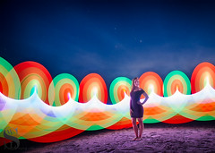 1 Sublime pixelstick-2 (Singing With Light) Tags: 2016 4th alpha6000 augustmirrorless gulfbeach singingwithlight sonya6000 sorf06 firewall lightspinning photography pixelstick singingwithlightphotography sony spinning sunset umbrella