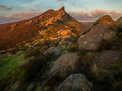 Ramshaw Rocks (david.travis) Tags: unitedkingdom staffordshire goldenhour england sunset summer ramshawrocks dusk