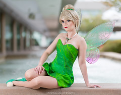Tinkerbell (S1Price Lightworks) Tags: tinkerbell tink tinker peter pan neverland cosplay cosplayer girl beauty wings comiccon comic con fairy pixie cosplays