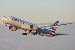 American Airlines Boeing 787-9 Dreamliner N834AA (Mark Harris photography) Tags: spotting lax la canon 5d plane aviation