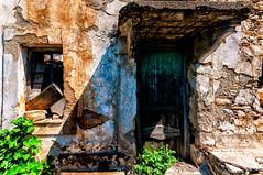 Old Village, Alonnisos (Kevin R Thornton) Tags: d90 alonnisos nikon alonnissos alonissos travel abandoned sporades architecture greece oldvillage oldtown northernsporades door decentralizedadministrationof decentralizedadministrationofthessalyandcentralgreece gr