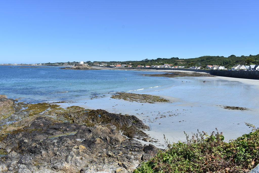 Portelet beach, Guernsey