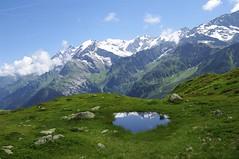 Massif du Mt Blanc (Hugues Boulard) Tags: montblanc montagne montagnes mountains ciel été alpes alpen alps