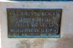 ALS VOLUNTARIS CATALANS MORTS A FRANÇA I ARREU DEL MÓN EN DEFENSA DE LA LLIBERTAT (Yeagov_Cat) Tags: 2019 barcelona catalunya parcdelaciutadella parc ciutadella monument memorial 19141918 19391945 josepclarà monumentalsvoluntariscatalans mortsafrança alsvoluntariscatalansmortsafrança estatua