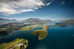 Glendhu Bay, Lake Wanaka (Kieran Campbell) Tags: otago flying wanaka newzealand paragliding southisland