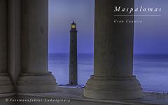 Faro de Maspalomas (Fotomanufaktur.lb) Tags: grancanaria canaries canary island lopesan costameloneras meloneras hotel schölkopf schoelkopf lighthouse leuchtturm faro bluehour vacation holiday