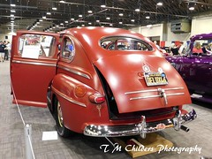 1946 Ford Super Deluxe (F R Childers Photography) Tags: carshows customcarshows hotrods the70thannualgrandnationalroadstershow grandnationalroadstershow ambr the70thgrandnationalroadstershow roadsters roadstershow gnrs californiacarshow hotrodcarshow customcars classiccars car fredrchildersphotography nikoncamera